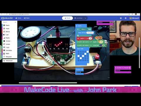 MakeCode Live with John Park 5/26/20 @adafruit @msmakecode @johnedgarpark