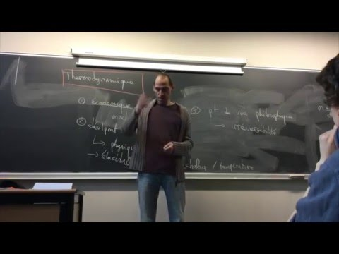 Cours de thermodynamique n°1 / Etienne Parizot / CPEI / Univ. Paris Diderot
