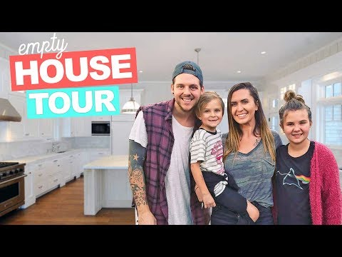 New EMPTY HOUSE TOUR 2018!! **Our New House** | Slyfox Family