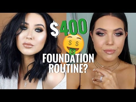 I TESTED JACLYN HILL鈥橲 $400 RADIANT GLOW FOUNDATION ROUTINE! Is it Worth the Money!? | Faith Drew