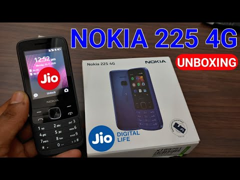 NOKIA 225 4G Feautre Phone Unboxing | Nokia 4G Feature Phone