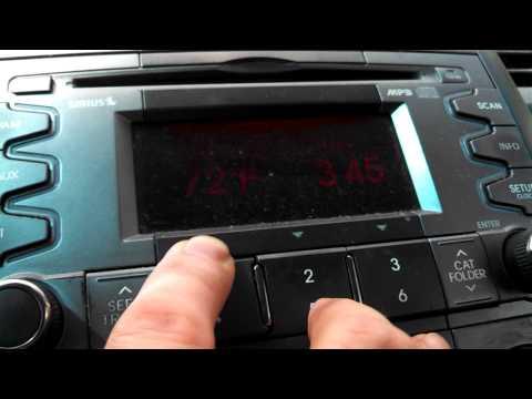 2010-14 Kia Soul Radio Firmware Check