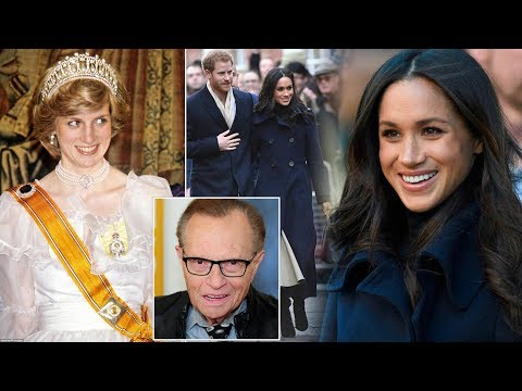 Larry King says Diana would have seen Meghan as a 'step forward' for the monarchy