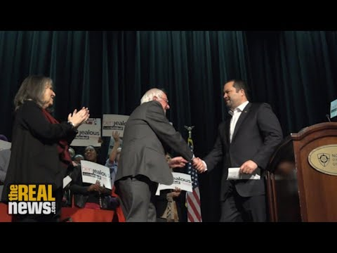 Bernie Sanders and Ben Jealous Hold Healthcare Rally in Baltimore