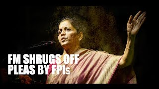 Super-rich tax: FM Sitharaman shrugs off pleas by FPIs, suggests a way out