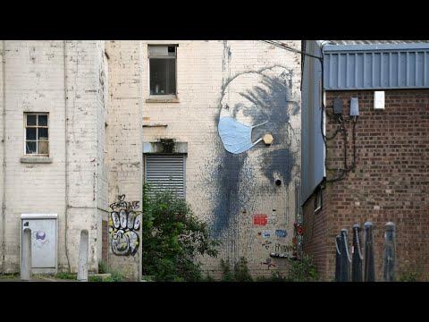 Artist Banksy confirms responsibility for 'Spraycation' street art