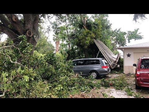 Strong storms wreak havoc across bay area: tornado touchdowns reported