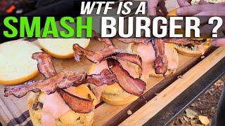 SMASH BURGER | Recipe | BBQ Pit Boys