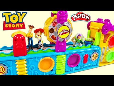Thumbnail: TOY STORY Characters Visit Magic Play Doh Mega Fun Factory Playset to Collect Surprise Toys!