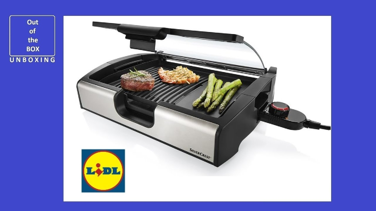Lidl grill swalif - Silvercrest home tech ...