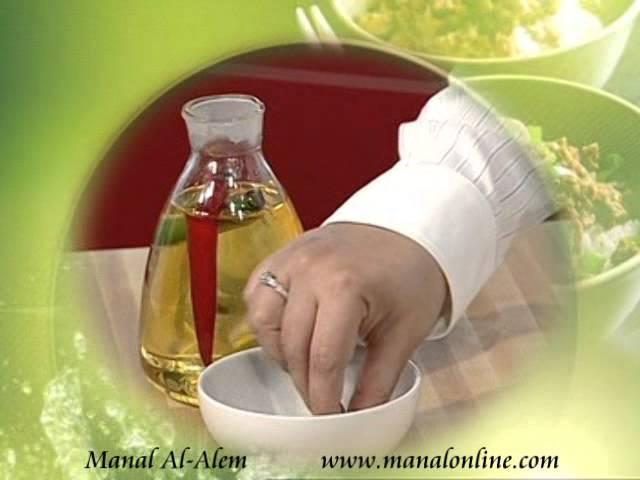 فكره لأضافة نكهه وطعم مميز للزيوت - مطبخ منال العالم