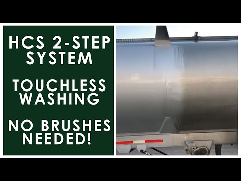 Touchless Truck Washing | 2 Step High Pressure Fleet Washing Equipment