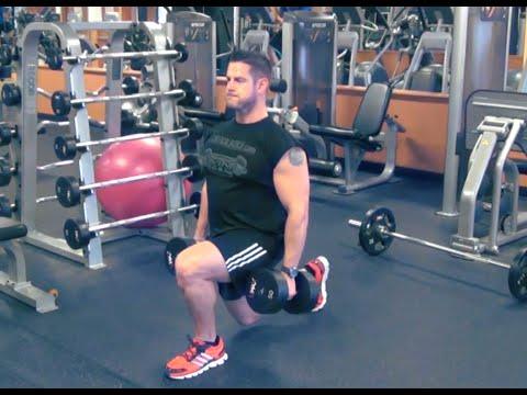 Dumbbell Split Squat - Develop Better Leg Symmetry