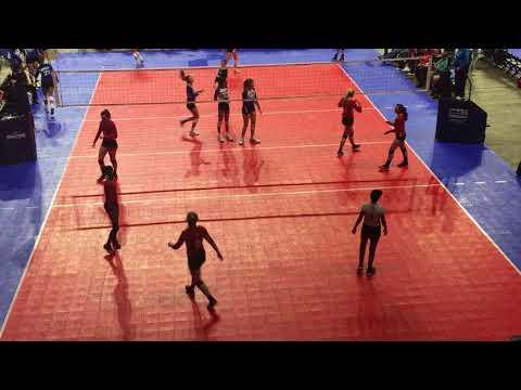 Tour of TX Qualifier:  Skyline BLK SET2 vs 360 Volleyball FW16.1