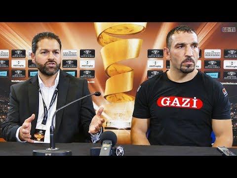 Firat Arslan vs Alejandro Valori 🔴 Interview nach dem Kampf