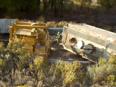 Derailment cleanup, Dotsero, CO - Part 3