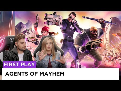 Gaunt Must Die: Agents of Mayhem | firstPLAY | screenPLAY