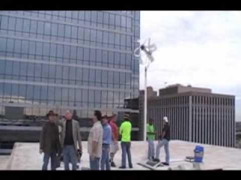 Home Energy Americas - El Centro College Wind Trubine