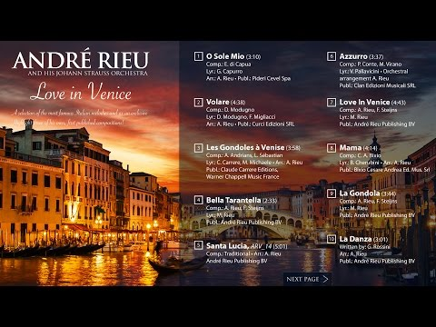 André Rieu - Love In Venice (Album player)