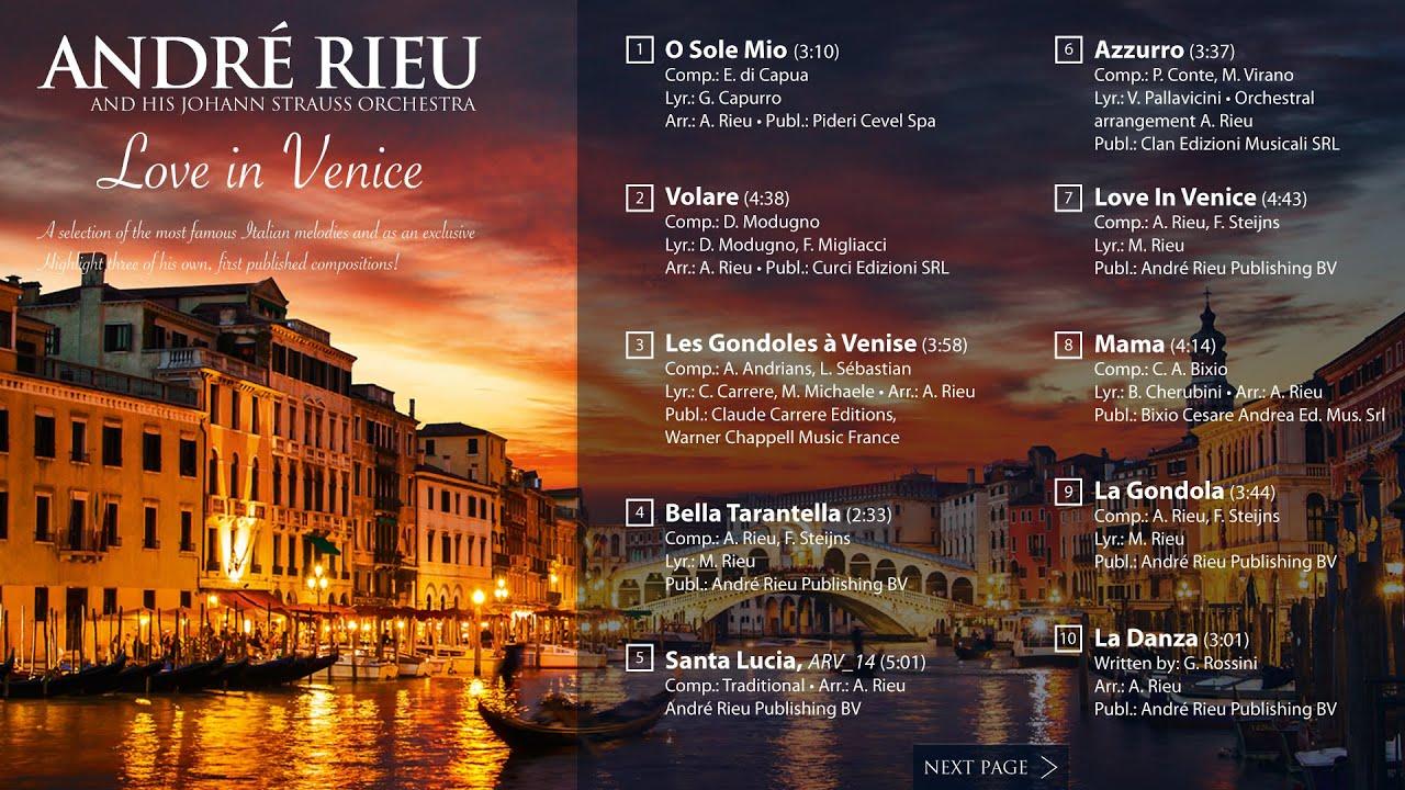 André Rieu - Love In Venice (Album player)