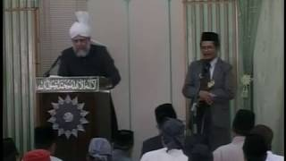Urdu Friday Sermon 7 Apr 2006 at Singapore, Objective of the Creation of Man