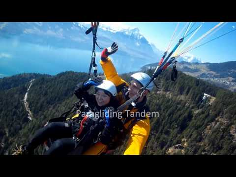 Tandem Paragliding / Gleitschirm Luzern Swiss / Swizerland
