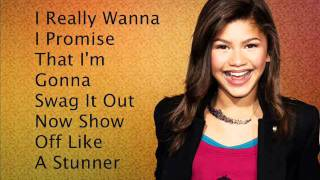 Zendaya - Swag It Out Lyrics FULL SONG