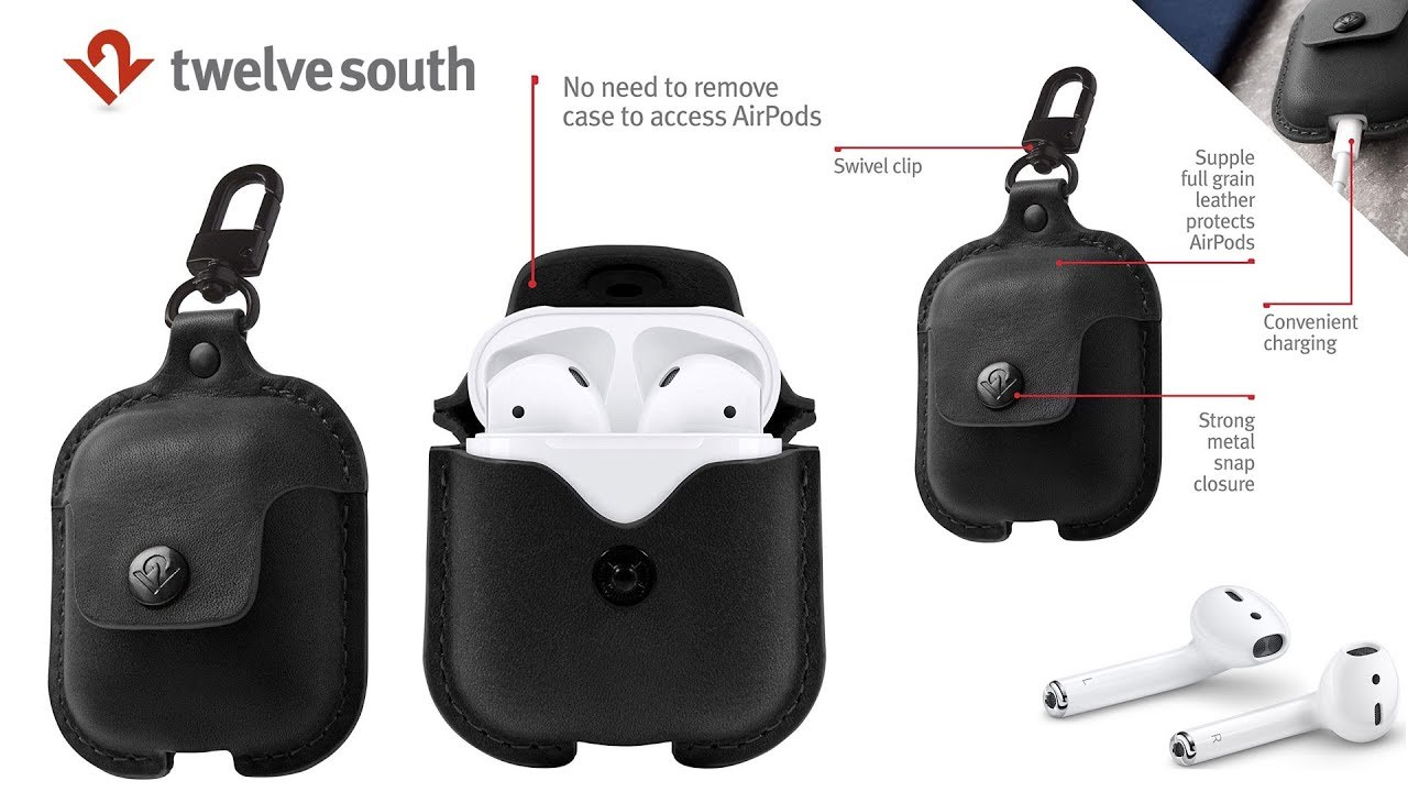 first rate 67f84 80571 Apple AirPods 2 - Best Apple AirPods 2 Case From Twelve South!