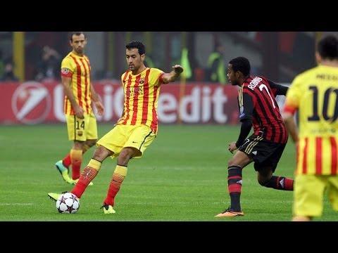 AC Milan Vs Barcelona 1-1 | All Goals & Highlights  | 22.10.2013