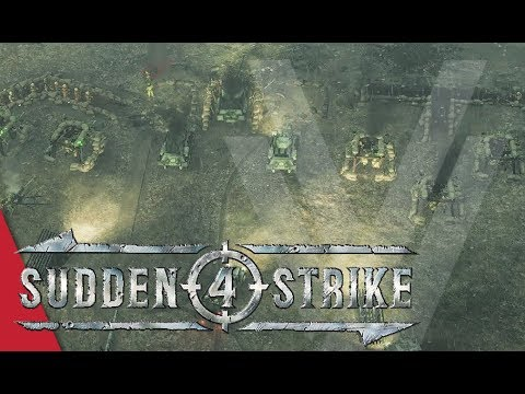 Mission 6: Balaton Defensive Operation! Sudden Strike 4 Gameplay (Soviet Campaign)