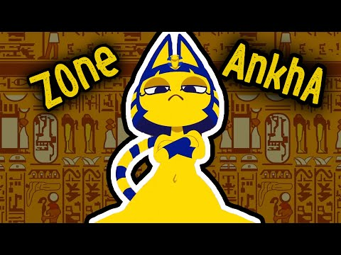 Zone Ankha | Желтая египетская кошка, АНКХА — ОТКУДА МЕМ ?