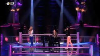 Celine Vs Karijn Vs Anne - Right Here Waiting | The Battle | The Voice Kids