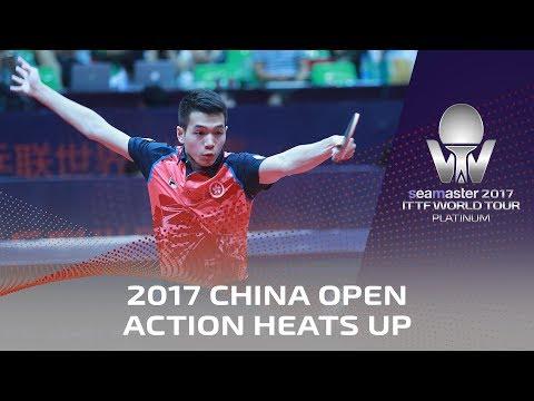 2017 China Open | Action Heats Up