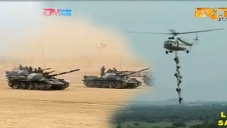 ERi-TV: Celebration Of Silver Jubilee Anniversary Of Sawa-Military Parade Featuring Tanks & Hcopters