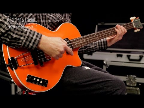 Hofner Gold Label Limited Edition Club Bass, Orange