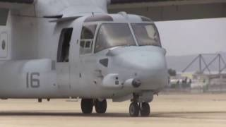 Marines Send 9 MV-22B Osprey Tilt-Rotor Aircraft to Okinawa, Phase 1!