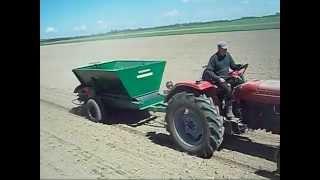 siew nawozu pod kukurydzę 2015 ii ursus c355 rnp zetor 6045