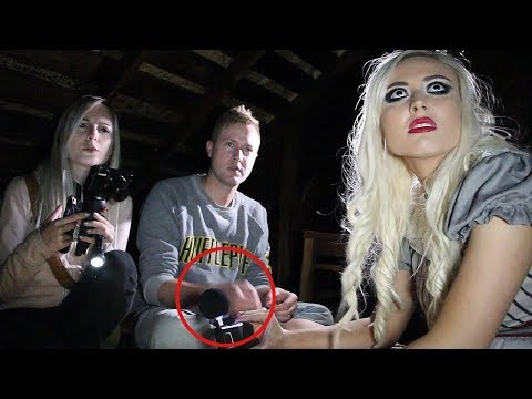 TALKING TO THE DARK ENTITY IN THE ATTIC... HE CURSED AT US?!