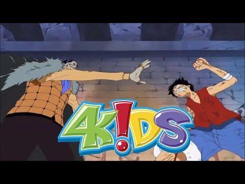 TEKKING VS. 4kids One Piece (Luffy Vs. Crocodile)