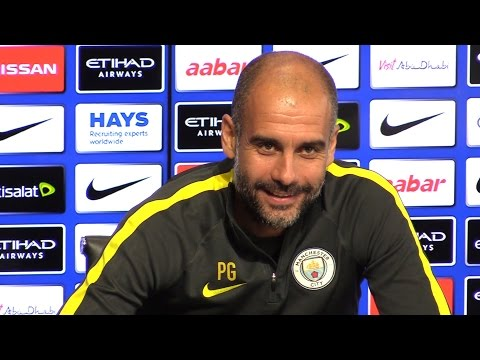 Pep Guardiola Full Pre-Match Press Conference - Manchester City v Everton