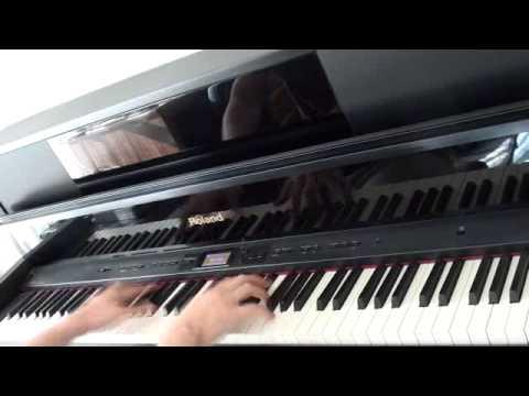 [異能バトルは日常系のなかで OP]OVERLAPPERSをピアノで弾いてみた[Qverktett:  ]