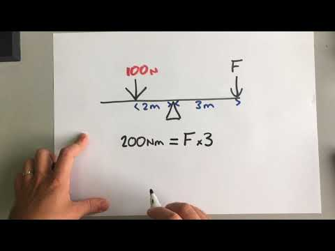 GCSE Physics - Forces 5 - Moments and Centre of Mass (triple)