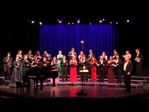 Wilfrid Laurier University Chamber Choir - OVF Central - Noon Concert - Feb 25, 2016