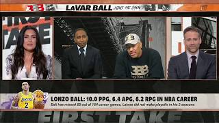 LaVar Ball Switch Gears Comment INAPPROPRIATE? l ESPN Molly Qerim