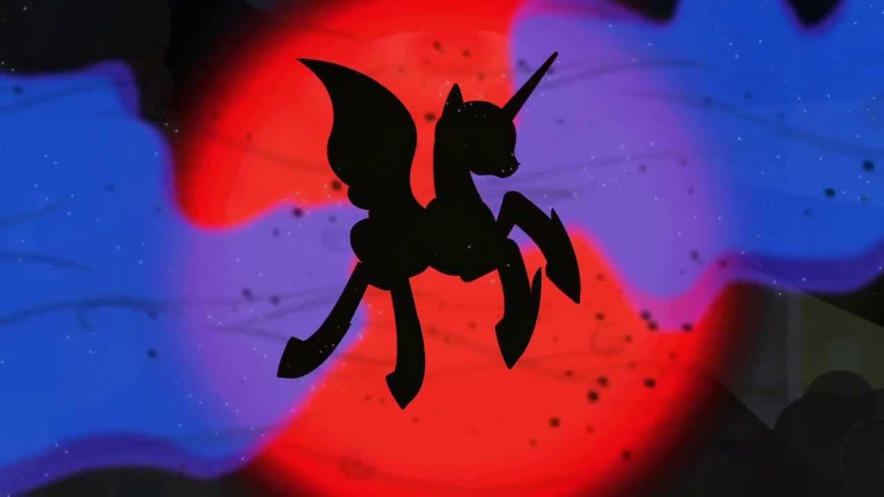 Princess Luna (transforming into Nightmare Moon) - YouTube