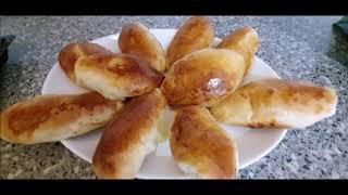 Очень вкусные Пирожки с Картошкой в духовке .Тесто и Картофельное пюре готовила в Термомиксе Тм5