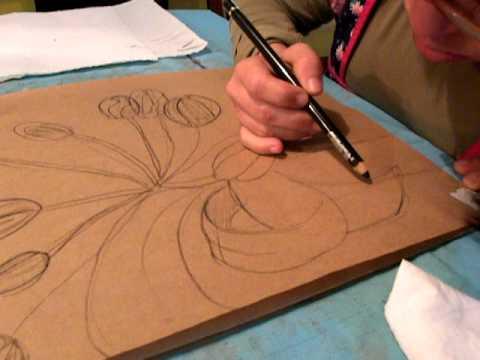 CLAUDIA ARIANA - Boceto de tulipanes - YouTube