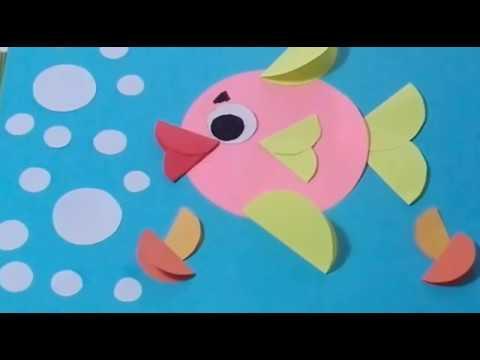 Kartondan Basit Balık Yapalım