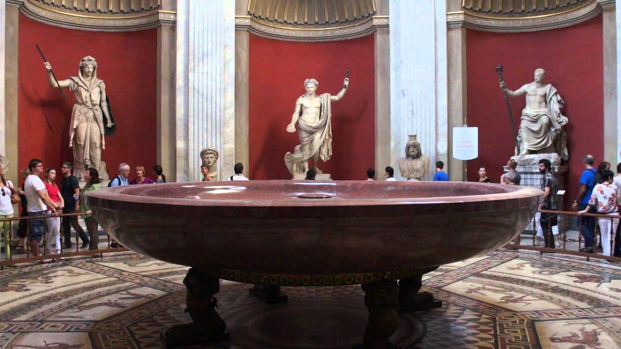 Sep 4 2014 The Vatican Museums Neros Bathtub Part 3