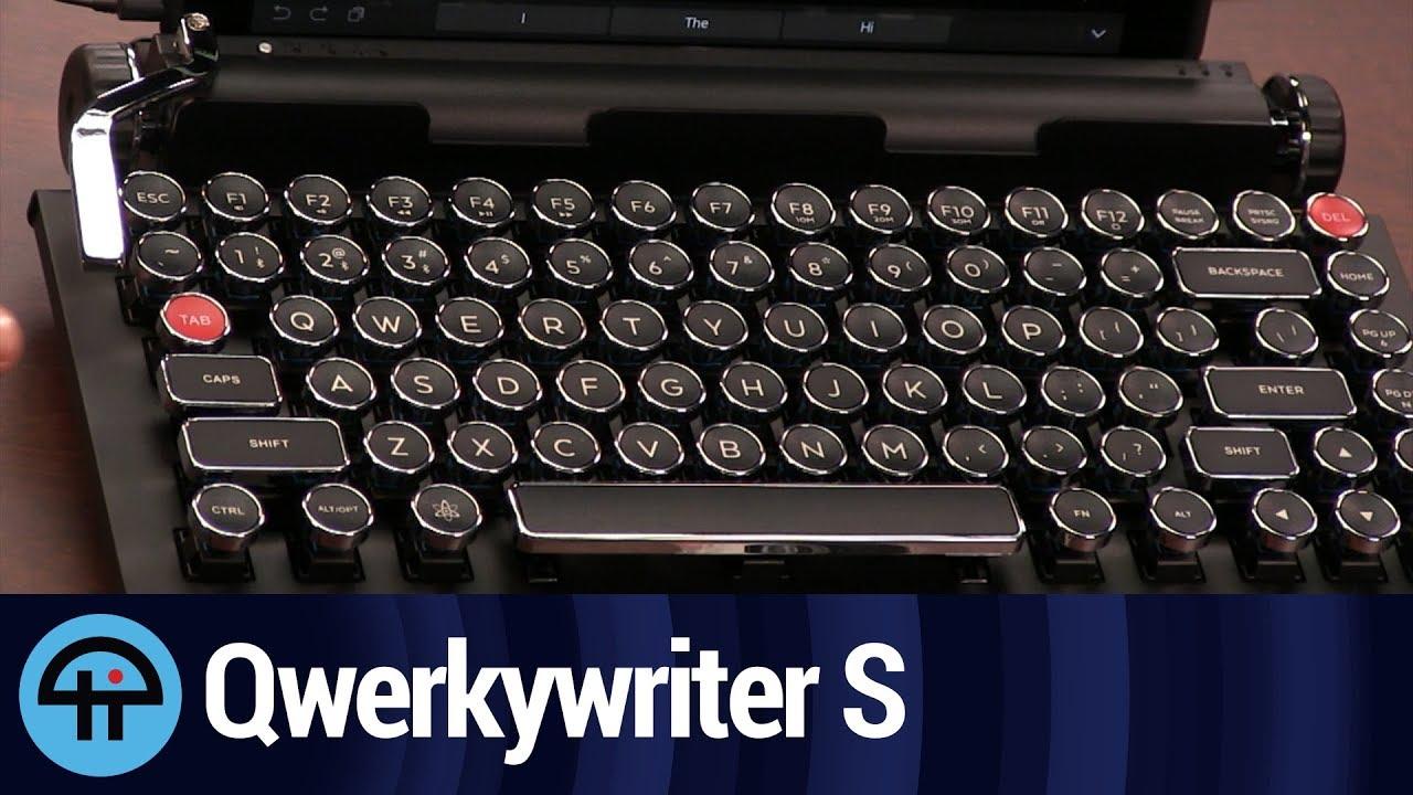e3851d4cb2b Qwerkywriter S Review - YouTube